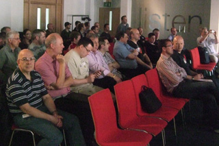Some of the users at the 2nd UK Media Center User Group meeting
