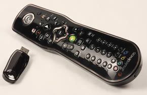 Windows Media Remote Control, Media Center Remote Control, Voice Activated Remote Control.